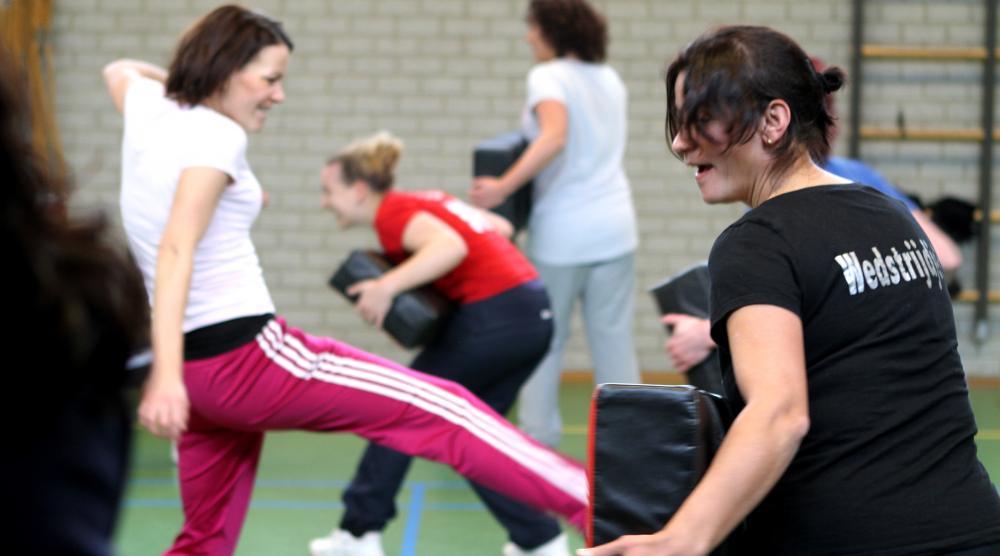 Slide 4: Workshop Kickboksen